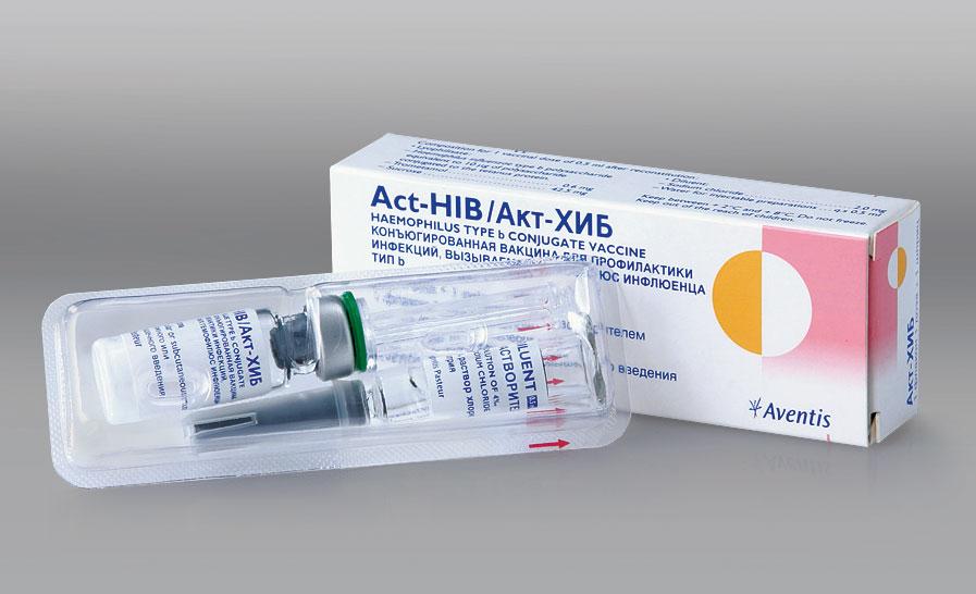 Инструкция к вакцине акт хип